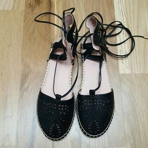 Topshop Shoes - Topshop Lace Up Espadrilles